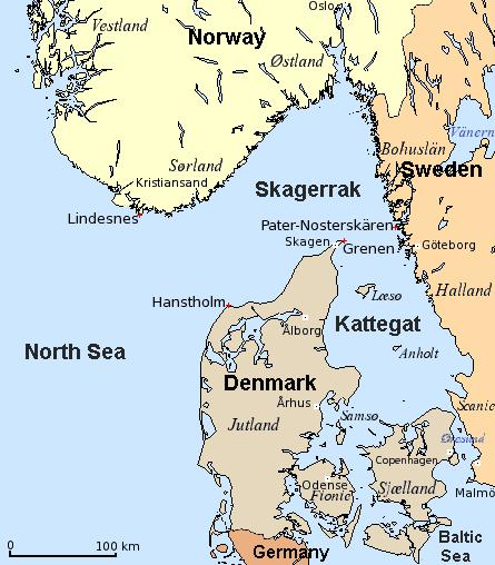 Expulsion of Beam Trawlers from the Skagerrak (DK).
