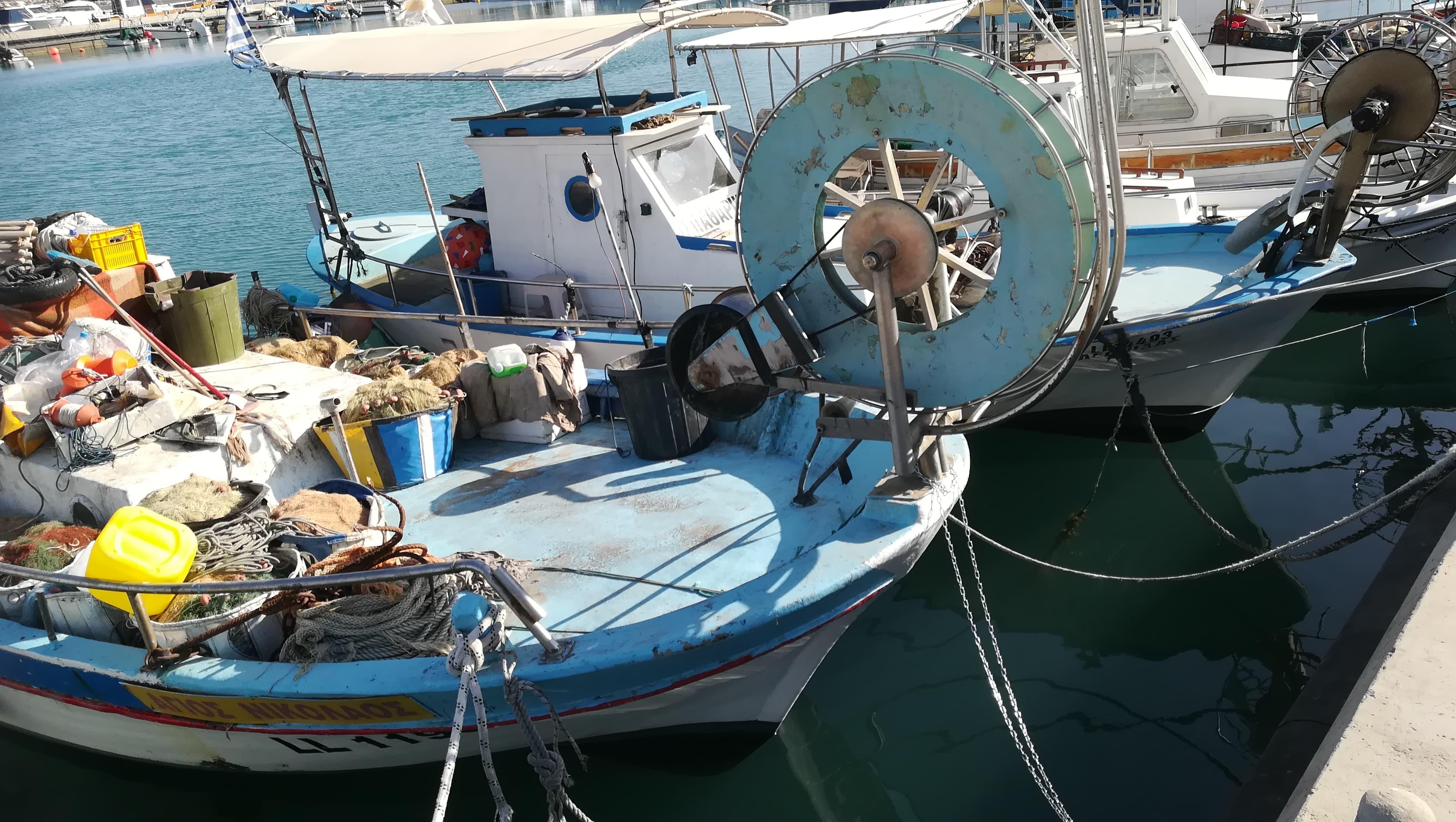 michali's boat