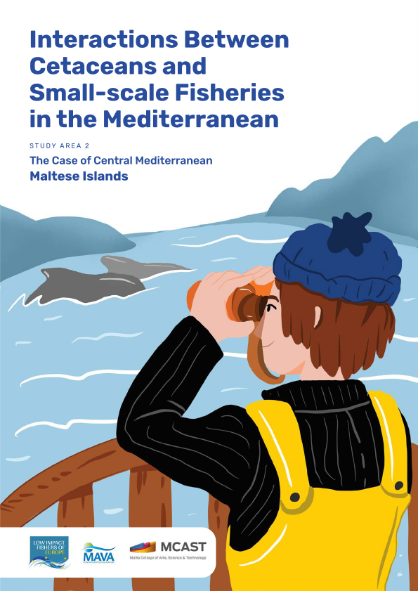 Interactions Between Cetaceans and Small-Scale Fisheries in the Mediterranean Sea: Study Area 2 - the case of the Central Mediterranean Malta