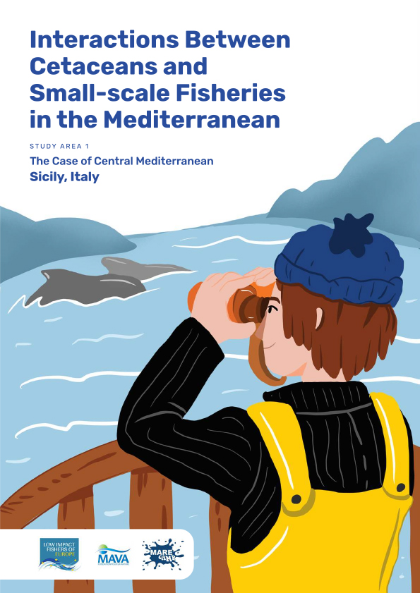 Interactions Between Cetaceans and Small-Scale Fisheries in the Mediterranean Sea: Study Area 1 - the case of Central Mediterranean Sicily, Italy